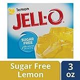 JELL-O Jello Jell-O Sugar Free Lemon Low Calorie Gelatin Dessert 1 X 8.5g Box Jello, 1 Units