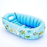 Heruai Baby Bäder Kinder Schwimmbad Aufblasbare Kleine Bad Verdickung Portable Isolierung kann...