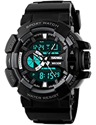 Upto 85% Off On Skmei Chronograph Analogue Digital Sport Men's Watches low price image 14