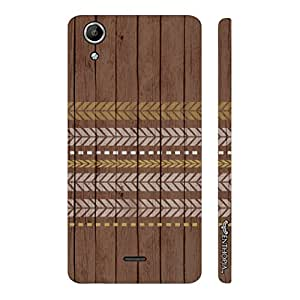 Micromax Canvas Selfie Lens Q345 Running Arrows designer mobile hard shell case by Enthopia