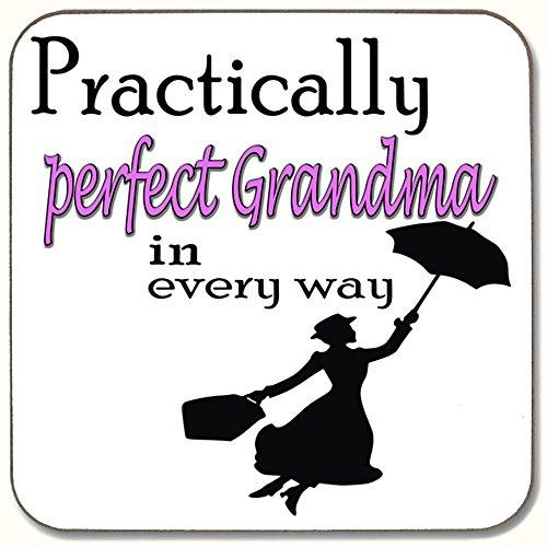 Praktisch perfekte Oma in Every Way Getränke Untersetzer ideale Geschenk