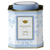 Wedgwood A Taste of History 1996 India Caddy, 100g, Blue