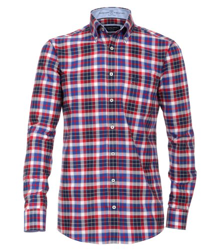 CASAMODA - Chemise casual Homme - 441902700/400 Rouge (Rot)