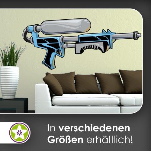 super-soaker-wasserpistole-multicolor-pared-adhesivo-80-x-35cm