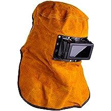 xtlstore Filtro Lente soldador capucha de piel de oscurecimiento auto solar casco de soldadura máscara