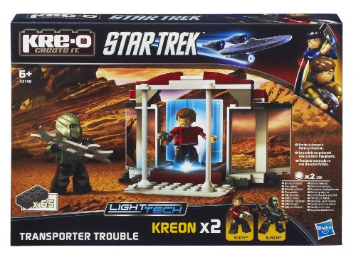 KRE-O A3140E24 - Star Trek teleporter and figure set