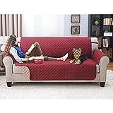 El sofá cubre, fundas de sofá acolchadas resistentes al