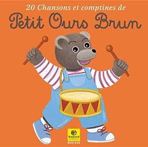 20 chansons et comptines de Petit Ours Brun Vol. 1: Collectif