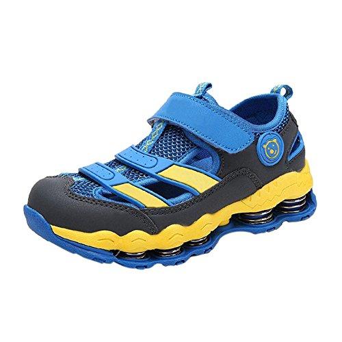 Zhuhaixmy Fashion Kinder Kids Jungen Outdoor Frühling Hiking Schuhe Sport Laufen Turnschuhe Blue