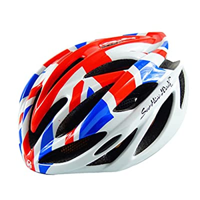 Yuncai National Flag Printing Men/Women Cycle Helmet Lightweight Breathable Mountain Road Bike Helmets from Yuncai