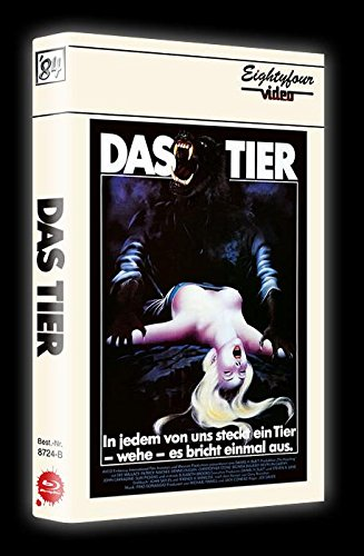 DAS TIER - The Howling UNCUT ltd. UNCUT Blu-ray + DVD gr. HARTBOX Limited Special 150er Edition Cover B