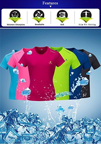 VECTOR - T-shirt de sport - Femme Blue-Women