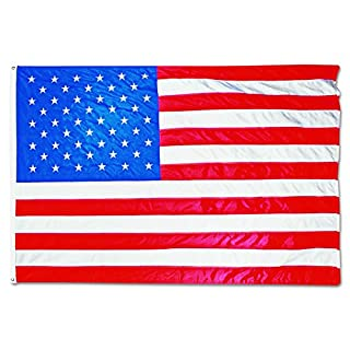Advantus MBE002270 All-Weather Outdoor U.S. Flag, Heavyweight Nylon, 5 ft x 8 ft