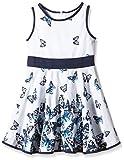 Happy Girls Mädchen Kleid mit süßen Schmetterlingen, All Over Print, Gr. 92, Mehrfarbig (Navy 62)