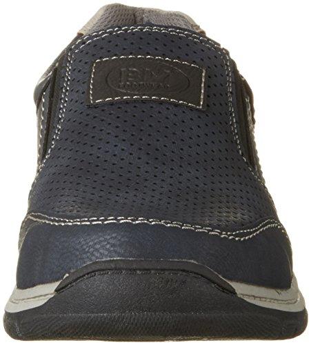 BM Footwear Herren 2710603 Slipper Blau (Navy)