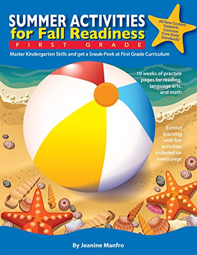 Summer Activities for Fall Readiness: First Grade (English Edition)