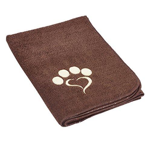 Preisvergleich Produktbild Mikrofaser Handtuch für Haustiere 70 x 50 cm