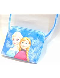 Sri Lohitaksha - Smooth Bag Frozen Sisters Hand Bag - Side Bag - Baby Girl Bag - Mobile Bag - Kids Bag -