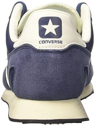 Converse  Auckland Racer Ox Nylon/Suede, Baskets Auckland Racer mixte adulte Bleu (Navy/navy/natural)