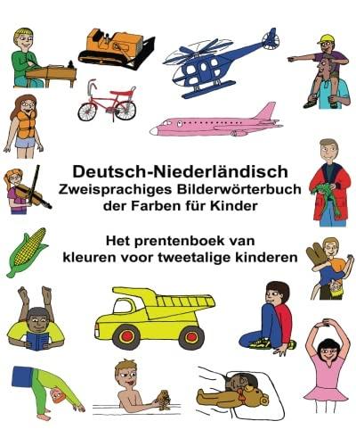 Deutsch-Niederländisch Zweisprachiges Bilderwörterbuch der Farben für Kinder Het prentenboek van kleuren voor tweetalige kinderen (FreeBilingualBooks.com)