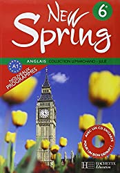 Anglais 6e New Spring (1CD audio)