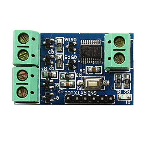 Optimus Electric 5pcs 1W 3 LEDs/RGB LED Driver Module Programmable with Reset Button for Custom Color Combination from -