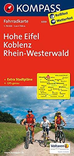 Hohe Eifel - Koblenz - Rhein-Westerwald 3059 GPS wp kompass por Kompass-Karten