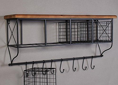 Mensole Per Ufficio : Civilweaeu mensola per mobili in stile industriale a uncino per