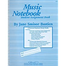 Music Notebook : Study Assignment Book (A Personal Keyboard Study Profile) by...