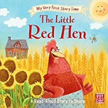 The Little Red Hen: Fairy Tale with picture glossary and an activity (My Very First Story Time Book 9) (English Edition)