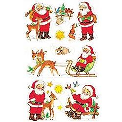 Naklejki bozonarodzeniowe Z Design Christmas Mikolaje