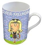 Kaffeebecher Super-Freundin