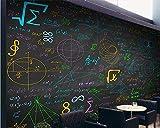 Personnalité moderne classique ultra fond d'écran HD belle mode coloré craie blackboard stéréo mur