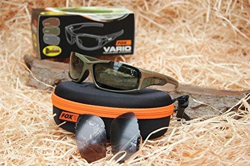 Fox Vario Sunglasses Polbrille, Modell:Grüner Rahmen - CSN036 by Fox Rage