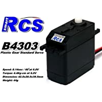 Best price for 2x RCS Model B4303 RC High Speed & Torque R/C Hobby Standard Servo CA138 from radiocontrollers.eu
