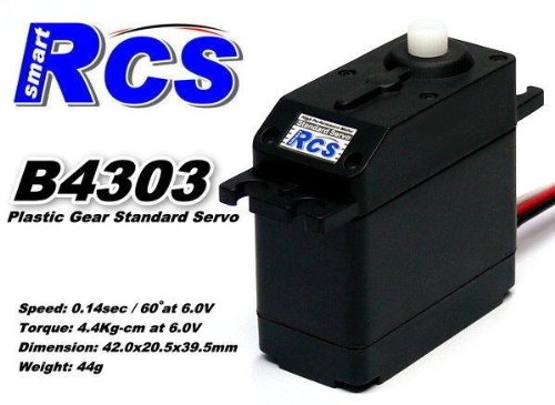 2x RCS Model B4303 RC High Speed & Torque R/C Hobby Standard Servo CA138 preisvergleich