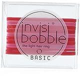 invisibobble BASIC Jelly Twist, ultraleichtes Haargummi für jeden Tag, 2er Pack(2 x 10 Stück)