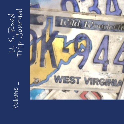 U. S. Road Trip Journal: West Virginia Cover (S M travel Journals)