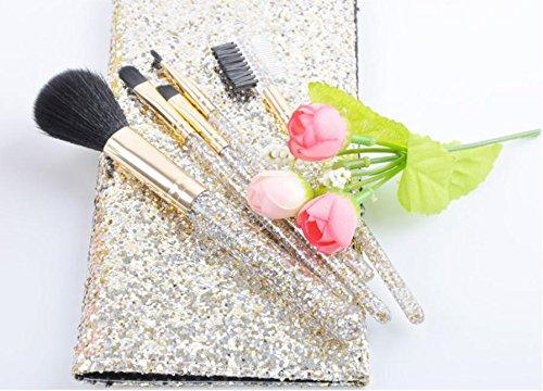 Make it Up XUAN Pinceau de maquillage Selmer poignée 5 PCs maquillage brosse brush set ensemble