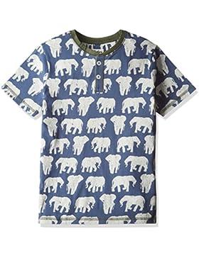 Hatley Jungen T-Shirt Henley Graphic Tee