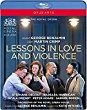 George Benjamin : Lessons in Love and Violence. Degout, Hannigan, Orendt, Hoare, Boden, Benjamin, Mitchell. [Blu-ray] [Import italien]