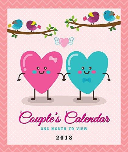 Kalender 2018 für Paare von Arpan, Kalender für 2 Personen mit Monatsansicht (in englischer...