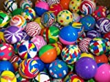 Akki World Colorful Bouncy Balls, Stress Reliever Fun Play Balls (24pcs) ( Birthday return gift for kids)