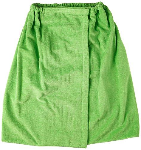 Terry Town Damen Plus Größe Terry Velours Spa Wrap, lime grün, XXL