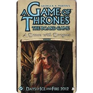 Fantasy Flight Game of Thrones Expansion A Dance with Dragons Board Game