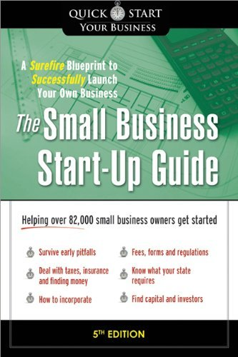 The Small Business Start-Up Guide: A Surefire Blueprint to Successfully Launch Your Own Business by Matthew Thompson (2013-07-02)