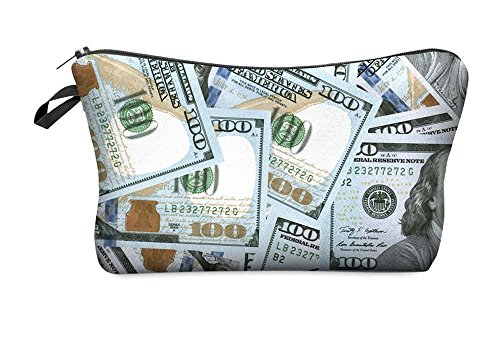 Make-Up Bag Kosmetiktasche Stiftetasche Organizer Money Dollars