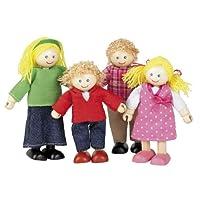 Tidlo Wooden Dolls House Doll Family