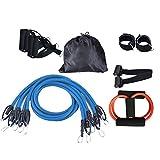 Corda elastica corda di fitness corda attrezzature per il fitness a casa forza di resistenza formazione cinturino cintura elastica espansione del torace estrattore