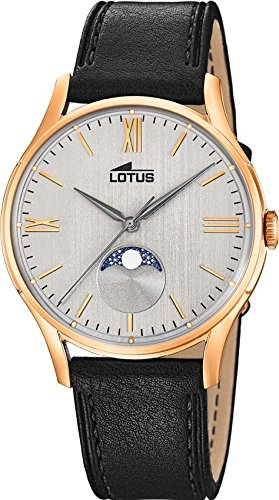 Lotus Multifunktion 18428/1 Mens Wristwatch Lunar Phase Indicator